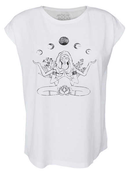 Women T-shirt Roll Yin Yoga