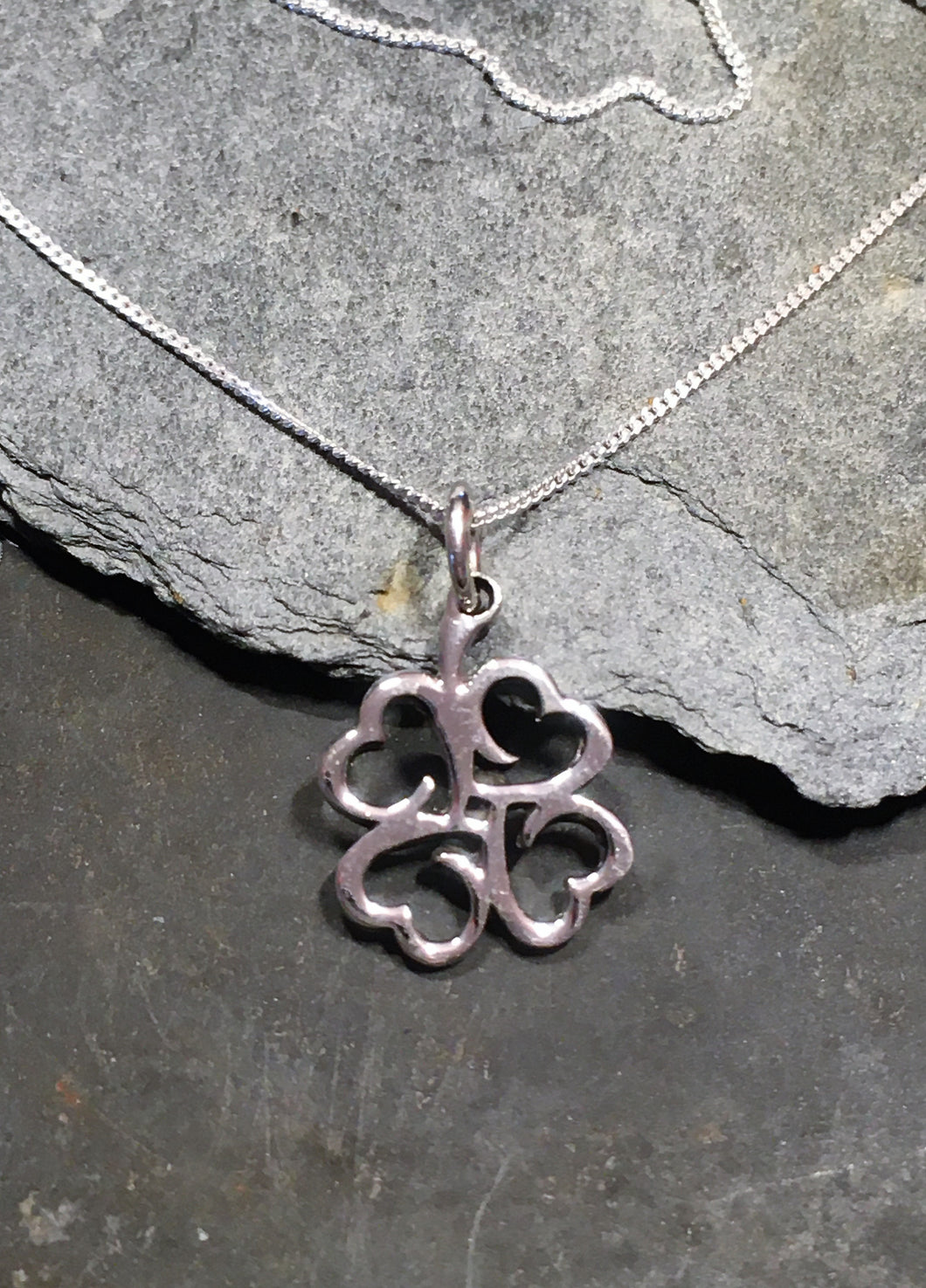 SP145BC - HEART CLUSTER PENDANT