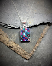 Load image into Gallery viewer, SP152BC - MIX RECTANGULAR CZ  PENDANT