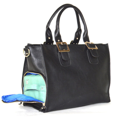 Juno Blu Nepenthe Pump Bag - Black