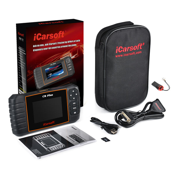 iCarsoft CR Plus Professional Diagnostic Tool for Multiple Brands - Electromann SA