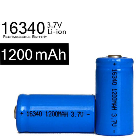 Ultrafire 3.7V 1200mAh, 16340 Re-chargeable Li-ion Battery