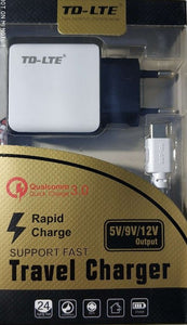 TD-LTE Qualcomm 3.0 Micro USB Charger