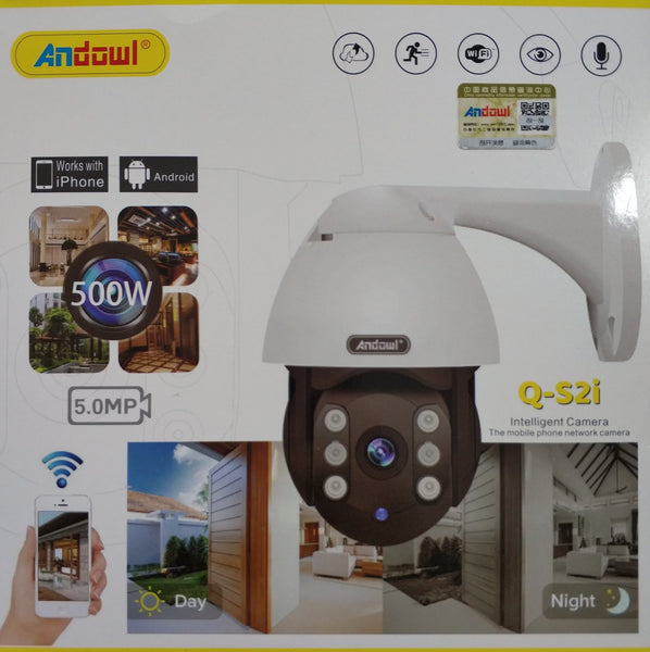 Andowl Q-S2i Wifi Outdoor Smart IP PTZ Camera