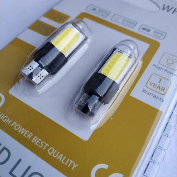 T10/W5W 12-24v Cob Chips Led Bulb