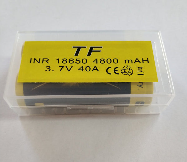 TF INR18650 2000mah Lithium Battery Set