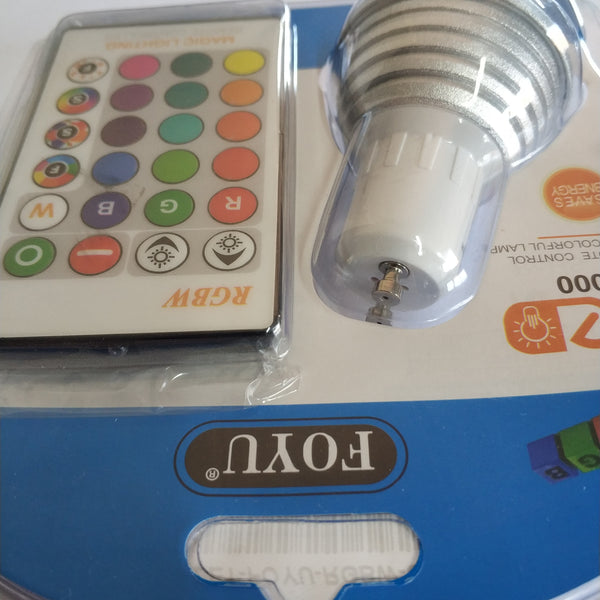 Foyu RGBW GU10 Led Downlight Bulb Kit