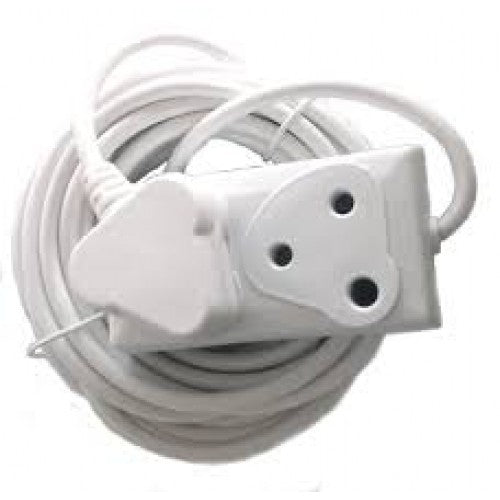 220v 10m Extension Cord With Two-Way Multi-Plug - Electromann SA