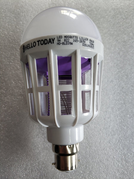 9 watt B22 Mosquito Killer Led lamp