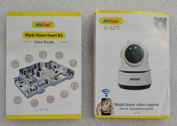 Andowl  Q-A275 5MP Intelligent Wifi IP Camera Doorbell