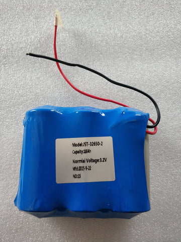 15000mah 1S3P 3.2v Lithium 32650 Battery with BMS