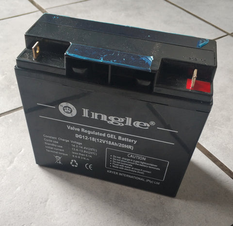 12v 18ah Solar Rechargeable Battery