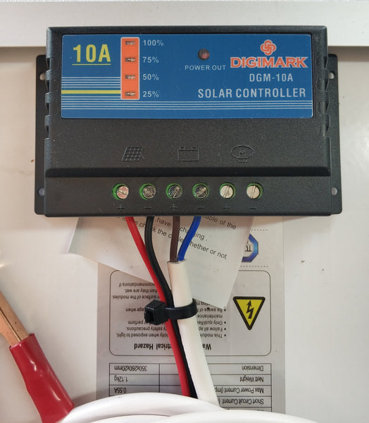 10W 10A Solar Car/Boat Battery Charger Kit