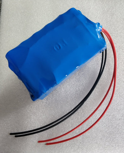 12.6v 10.2Ah Rechargeable Li-ion Battery Pack with BMS
