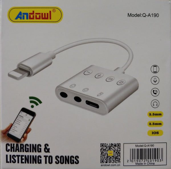 Andowl Q-A190 iPhone Smart Adapter