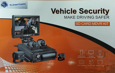 4-Channel Vehicle DVR Kit