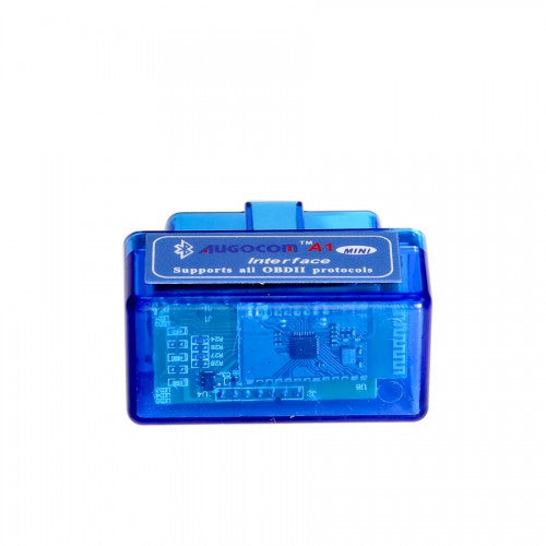 AUGOCOM MINI ELM327 Bluetooth OBD2 Hardware V1.5 Software V2.1