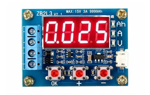 1.2v - 12v Battery Capacity Tester For 18650 li-ion/lead-acid Batteries
