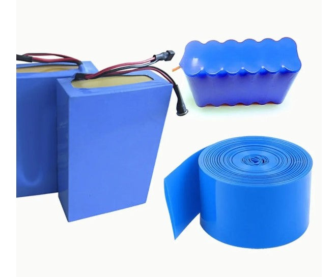 2M PVC Heat Shrink Tubing for DIY 18650 Battery - 110mm