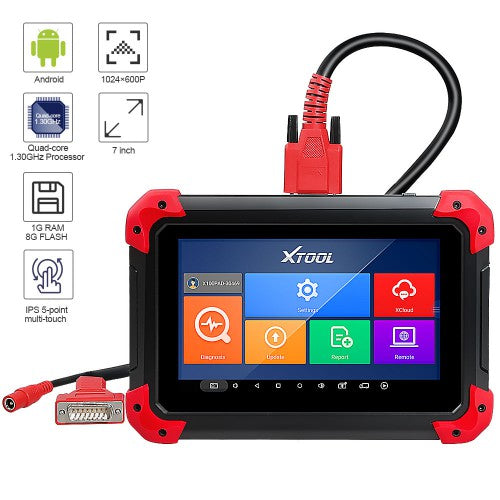 XTOOL X100 PAD Key Programmer With Oil Reset Odometer Adjustment