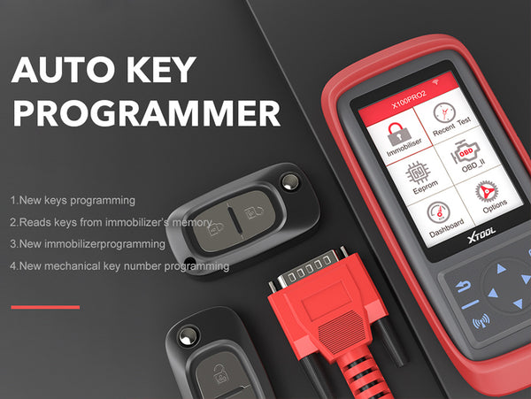 XTOOL X100 Pro2 Auto Key Programmer with EEPROM and Mileage Adjustment