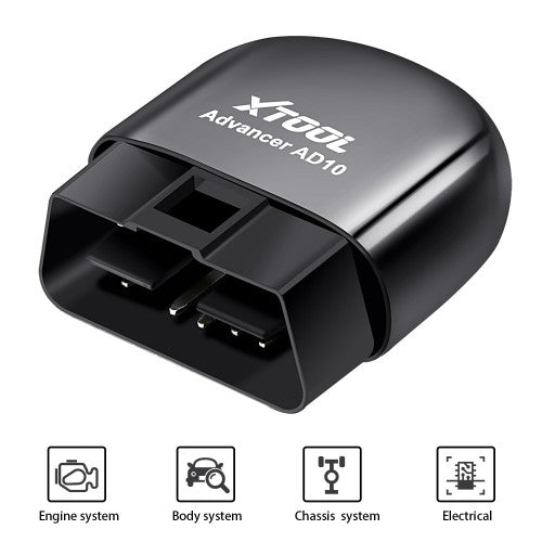 XTOOL AD10 ELM327 Advanced OBD2 Diagnostic Scanner