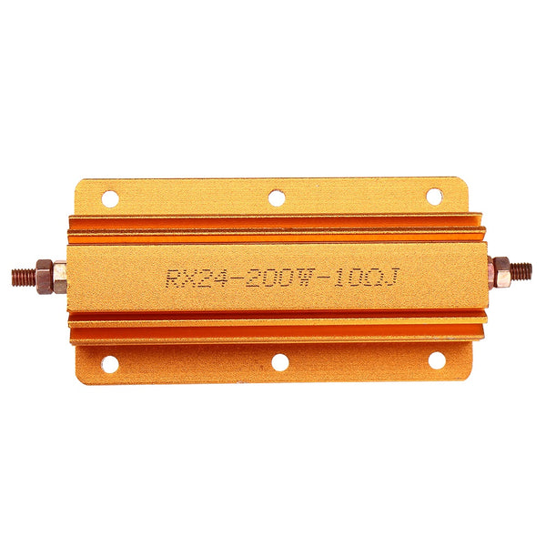 RX24 200W 10R Aluminum Case High Power Resistor