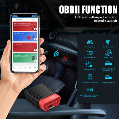 Original Launch Thinkcar 2 ThinkDriver Bluetooth Full System OBD2 Scanner for iOS Android