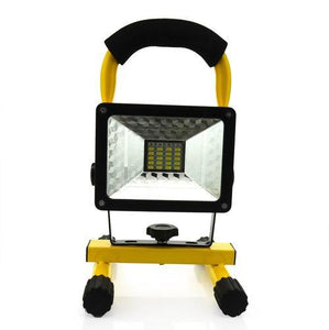 30W Rechargeable Flood Light - Electromann SA