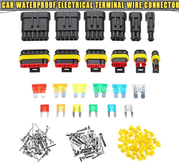 240PCS Electrical Connector and Fuse Set