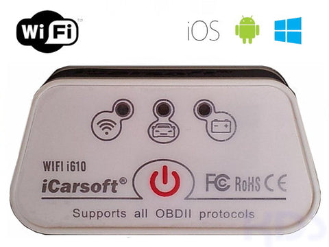 iCarsoft WiFi Multi-scan Tool i610
