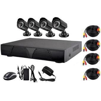 4 Channel 2MP Camera AHD CCTV Kit - Electromann SA