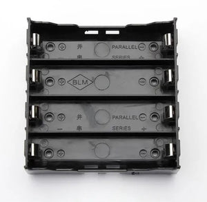 E1A1 ABS Battery Box Holder For 4 x 18650 Lithium Cells