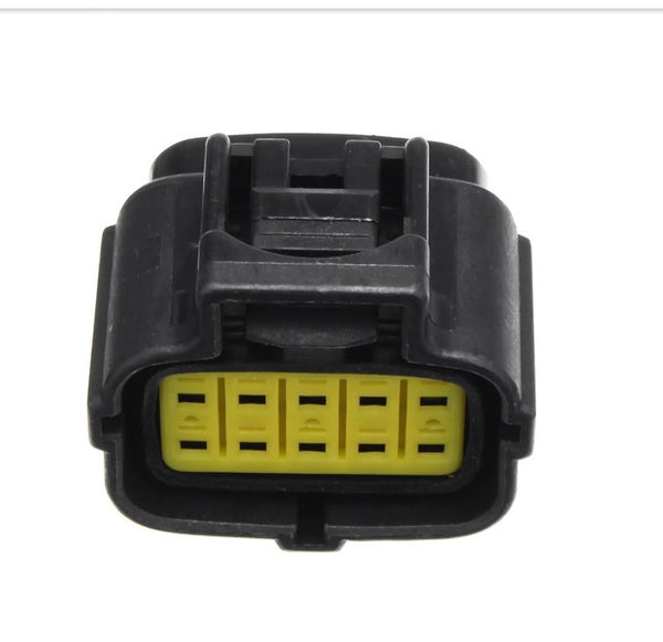 5X 10 Pin Waterproof Electrical Connector Plug