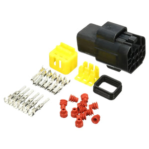 6Pin Waterproof Electrical Wiring Multi Connector Kit