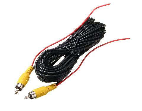 12M 12V-24V 2RCA Video Cable