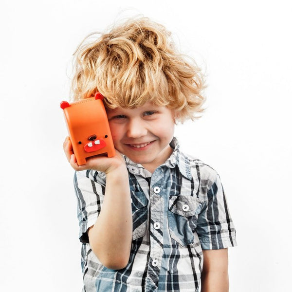Toymail - Free Voice Messaging For Kids! - Milksop the Bear Mailman - Electromann SA
