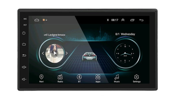 iMars 7 Inch 2 Din Car MP5 Player for Android 8.0