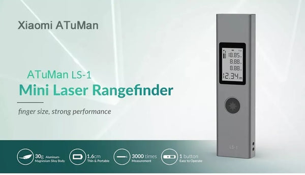 Intelligent Rechargeable Digital Laser Rangefinder and Distance Meter