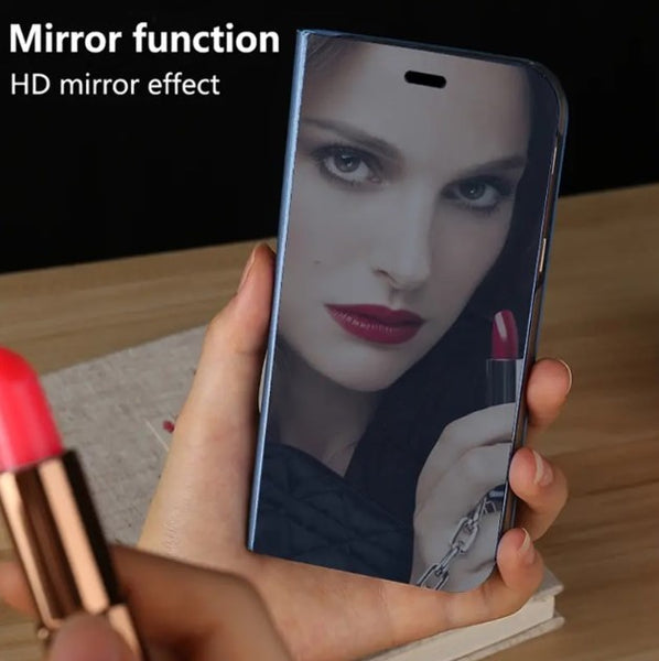 Bakeey™ Plating Mirror Shockproof Flip Full Cover Protective Case for Xiaomi Mi Note 3