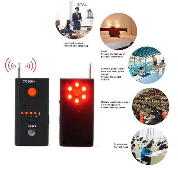 Full Range Bug, Wireless Signal Detector - Electromann SA