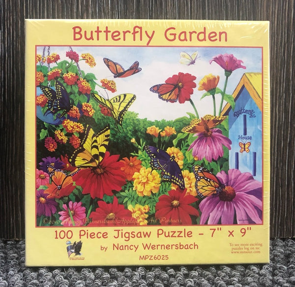 Mini 100pc Puzzle - Butterfly