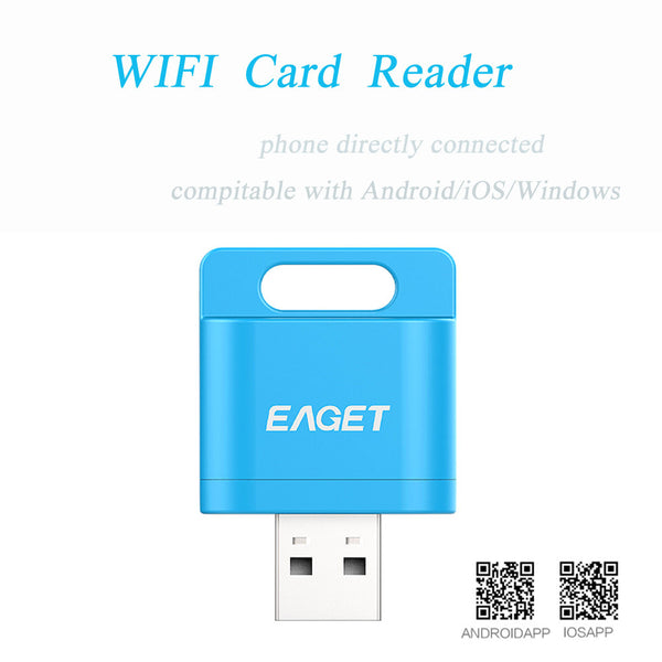 EAGET A50 Wifi Wirless Card Reader - Electromann SA
