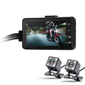 Dual-Camera Motorcycle DVR - Electromann SA