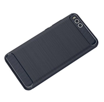 Blue Carbon Fiber Look TPU Soft Cover for Xiaomi Note 3 - Electromann SA