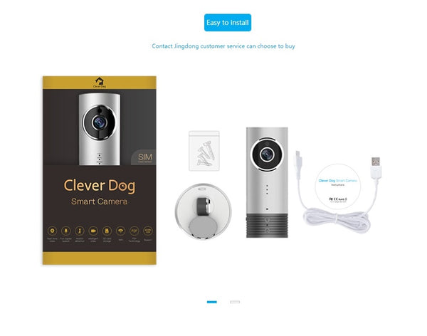 Clever Dog Smart 3G IP Camera - Electromann SA