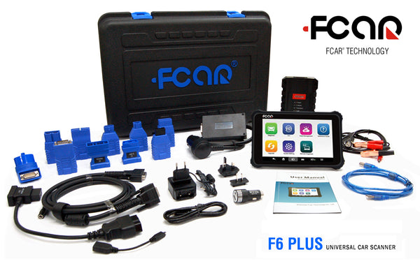 FCAR F6 Plus Professional Vehicle Diagnostic Tool - Electromann SA