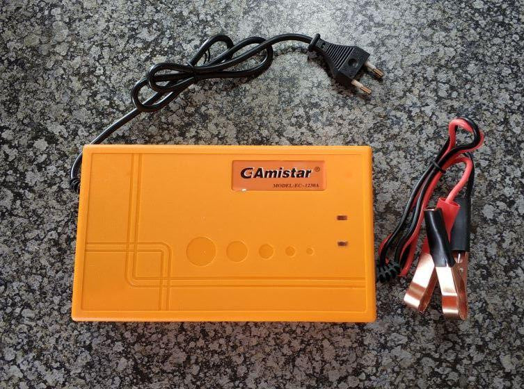 GAmistar 12v 30A Intelligent Pulse Charger - Electromann SA