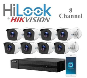 HiLook 8ch Turbo HD 720P CCTV KIT