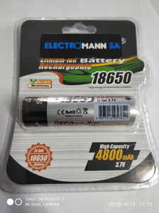 SDNMY 18650 2500mah Lithium Battery